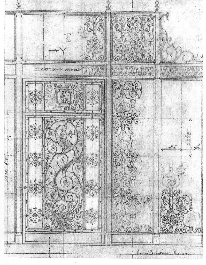 Harry Green Front Entry Architectural Drawing