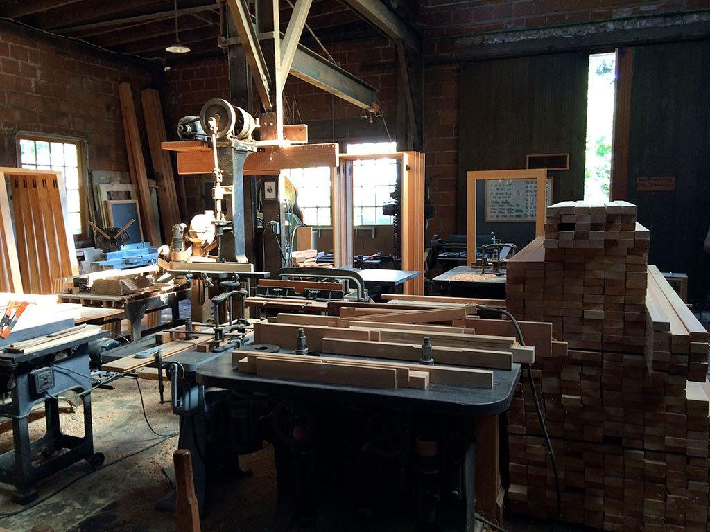 Donovan Harding's shop - new windows