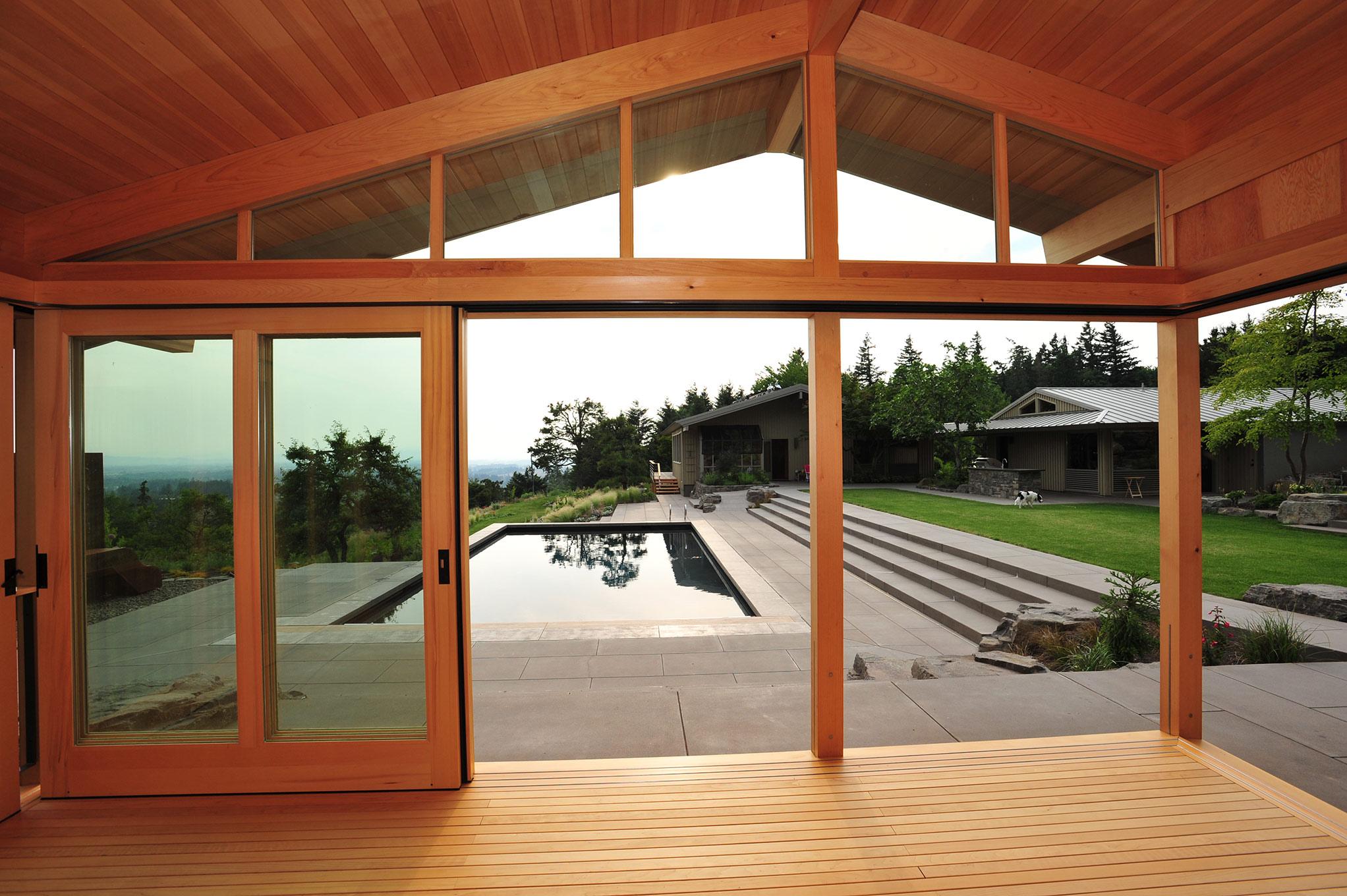West Wind indoor-outdoor space