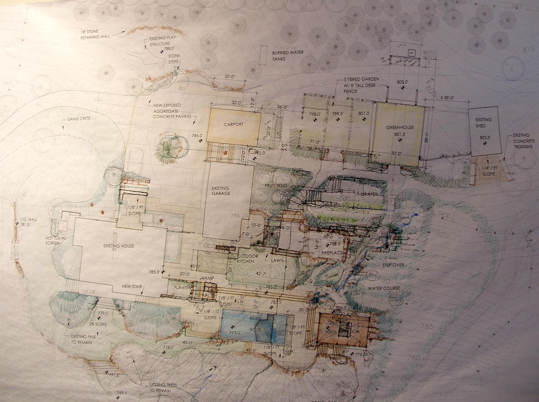 West Wind architectural plans