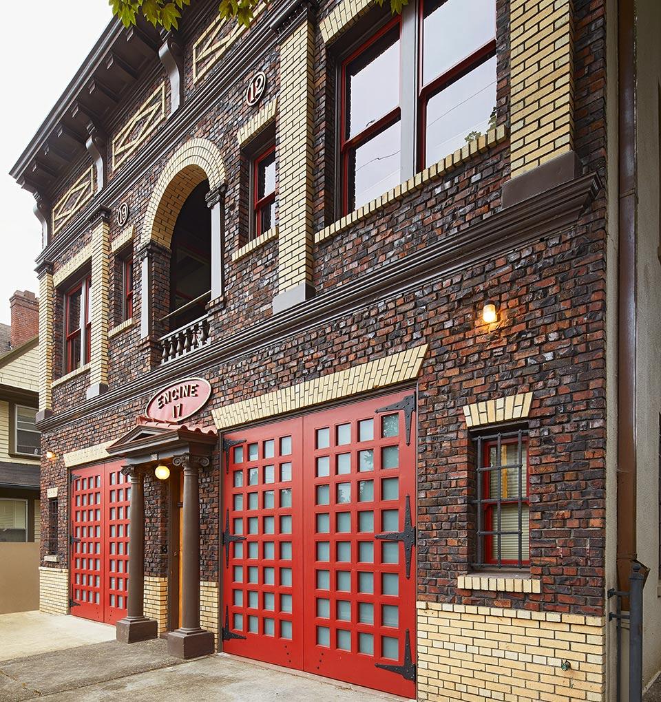 Firehouse 17 exterior