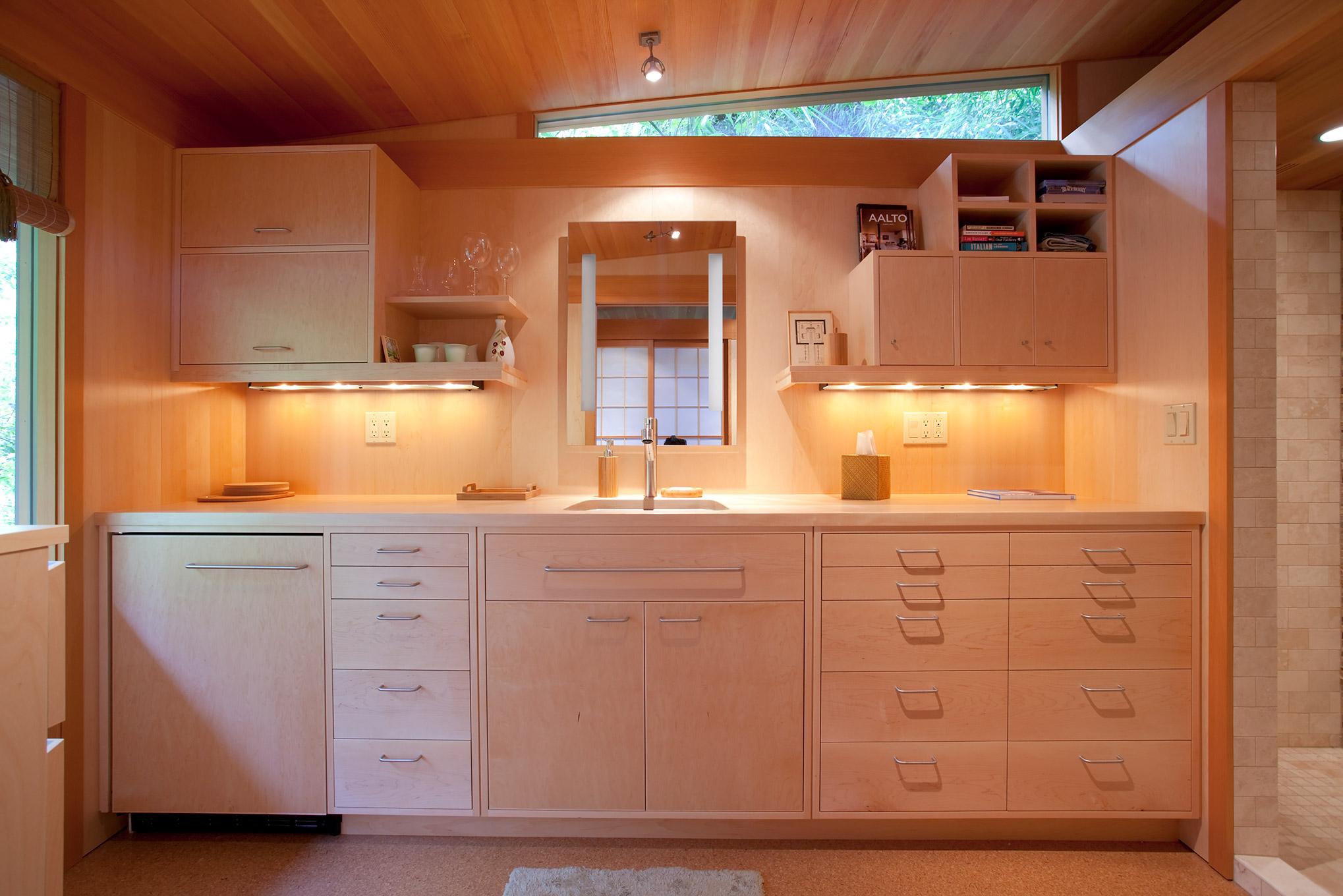 Belluschi teahouse kitchen